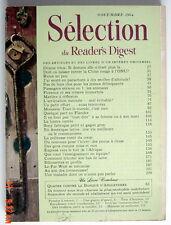 SÉLECTION DU READER'S DIGEST DE NOVEMBRE 1964