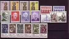 DK - Faroer  Jahrgang 1984 postfrisch in allen Hauptnummern kpl.