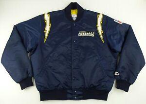 Vintage Starter ProLine NFL San Diego LA Chargers Satin JacketSize Men's Large L