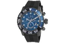 Invicta Silicone/Rubber Band Stainless Steel Case Watches