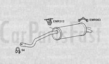 Exhaust Rear Box Seat Ibiza 1.2 Diesel Hatchback 06/2006 to 10/2007