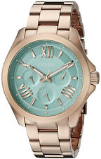 Fossil AM4540 Cecile Green Dial Rose Gold Stainless Multifunction Women's Watch