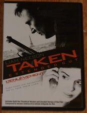 Taken Extended Cut DVD (2009, WS, English, French) Liam Neeson, Famke Janssen