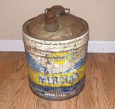 Sunoco Motor Oil Mercury 5 Gallon Oil Can