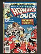 "Howard the Duck #13 ~ ""Rock, Roll Over and Writhe!""/1st Kiss/Key ~1977 (8.5) Wh"