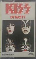 KISS Dynasty Cassette Tape 1979 (Casablanca) 4NBLP7152 VGC Sent Tracked