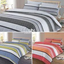 Linge de lit et ensembles bleu avec des motifs Abstrait, pour chambre à coucher