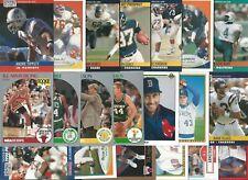 (20) Different 1990 University of Iowa Hawkeyes Alumni Cards Hilgenberg Tippett