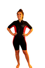 XL Shorty Wetsuit - Front Zip Off Style - Women's or Shorter Men - 2200