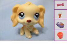 Littlest Pet Shop Dog Cocker Spaniel 91 Free Accessory Authentic LPS