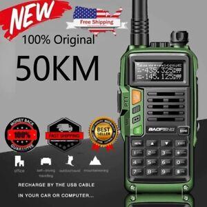 2021 UV-9R plus Waterproof IP68 Walkie Talkie 30-50 KM portable Two Way Radio