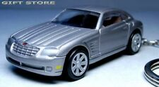 RARE KEY CHAIN 03/2004/2005/2006/2007/2008 SILVER CHRYSLER CROSSFIRE NEW LIMITED