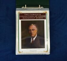 New listing 1946-1964 Complete Collection of Fdr Silver Dimes In Pcs Album - Free Ship Usa