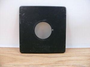 4x5 Pacemaker Crown/ Speed Graphic lens board . Copal 0 lens hole    ( B9)