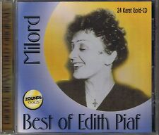 Piaf, Edith Milord ( Best of) Zounds Gold CD