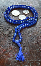 Blue Jade Hanmade Nirvana Mala 8mm 1108+1 Beads Necklace - Blessed