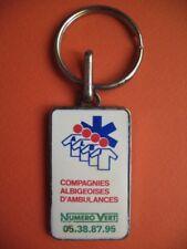 Porte-clés - 071 - Cies Albigeoises d'ambulances - Numéro vert