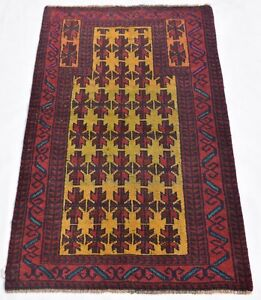 Awesome Designed Vintage Gold Color 2.5 by 4 feet, Area Rug, 100% Hand-knotted