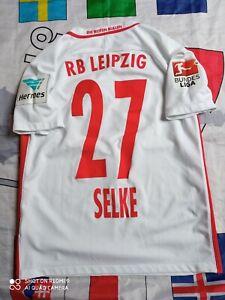 Trikot Red Bull RB Leipzig Davie Selke 27 Bundesliga Hermes Patches nike jersey