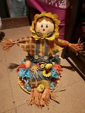 Easter bonnet scarecrow themed