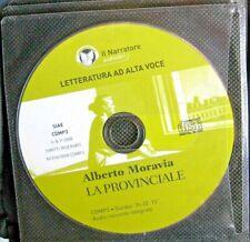 Audiolibro audiobook cd MP3  LA PROVINCIALE di ALBERTO MORAVIA/ usato
