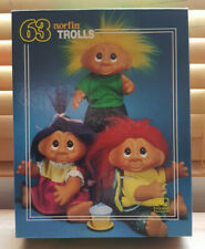 Trolls Jigsaw (Norfin Trolls) / Golden 5465B / 1992 - 63 Piece Puzzle Complete