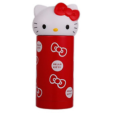 Hello Kitty Tumbler Thermos Water Bottle Stainless Steel 360ml(12oz)  - Red