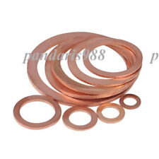 CF50 Brass Copper Sealing Gasket Flat Ring Washers Seal Ring