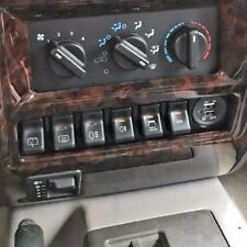 97-01 Jeep Cherokee XJ Switch Panel Fits 6 OEM Switches Passenger Side Power