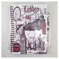 LONDON SOUVENIR NOTE PAD British GIFT A6 Size