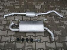 Mazda MX5 1.6i 1.8i 16V 2000-2005 CHROME ENDPIPE exhaust system silencer *F071