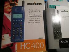 ALCATEL HC 400 OVP Vodafone Heft D / Dänish Svenska Lader super ok gebr Art. 66P