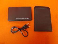 External 2.5 Inch 500 GB Hard Disc Drive USB 2.0 With Sheath Case Very Good 2295