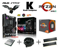 PC Bundle AMD Ryzen 5 2600 (6x3,9GHz) +ASUS ROG STRIX B450-F Gaming +8GB 2400MHz
