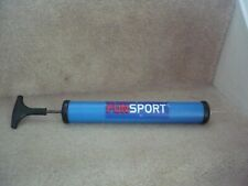 A FUNSPORT FOOTBALL PUMP AND ADAPTER FULLY WORKING