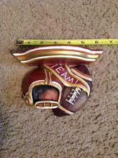 Football Helmet Team Sport Trophy Shelf Display By Shenandoah Nib