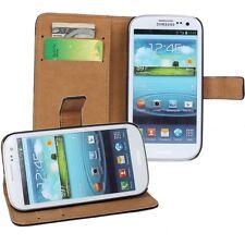 Samsung Galaxy S3 i9300 custodia  in pelle a portafoglio bianco case cover