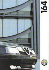 Alfa Romeo 164 2.0 Twin Spark 3.0 Cloverleaf Brochure