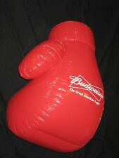 Budweiser Left Boxing Glove Bow Tie Inflatable Beer Blow Up sign bar Bud Light