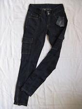 MANGO Collection Damen Blue Jeans Röhre Stretch W26/L32 Gr.34 slim fit low waist