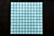 Crystal glass mosaic tiles - Pool Spa waterline Kitchen Bathroom #B522