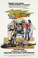 Smokey and the bandit Burt Reynolds movie poster print #12