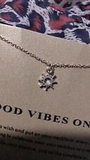 Good Vibes Only Necklace Sun Pendant Gold Dainty Charm Meaning Card Minimalistic