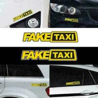 Fack Taxi Car Sticker Decal JDM Drift Funny Sticker Notebook Window 20cm*5c