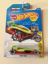 Hot Wheels Speedy Perez #23/365 Yellow Factory Sealed 2017 Long Card