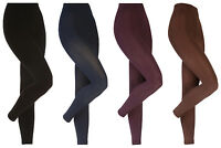 Heat Holders - Womens Winter Thermal Thick Warm Soft Brushed Fleece Leggings
