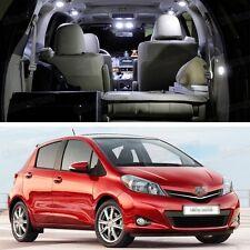 4Pcs LED White Light Interior Package Deal for Toyota Yaris 2010-2014 Error Free