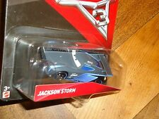 2017 DISNEY PIXAR CARS 3 JACKSON STORM NEW RELEASE IN HAND READY SHIP NEXT DAY