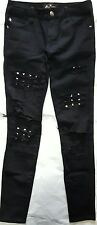 Royal Bones by Tripp NYC x Hot Topic Studed Ripped Jeans Women's size 0
