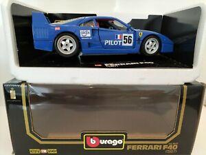 Burago 1:18 Ferrari F40 1987 CoD 3032 Pilot ovp